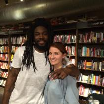 Meeting Jason Reynolds.